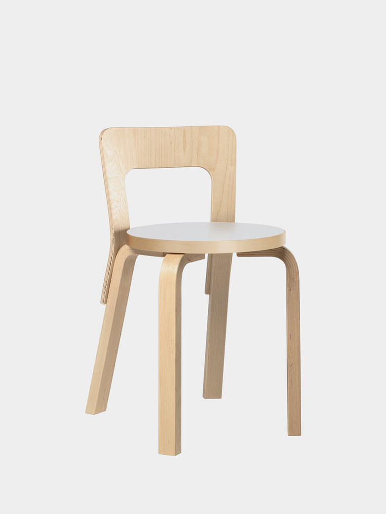 Chair 65 - Birch White Laminate