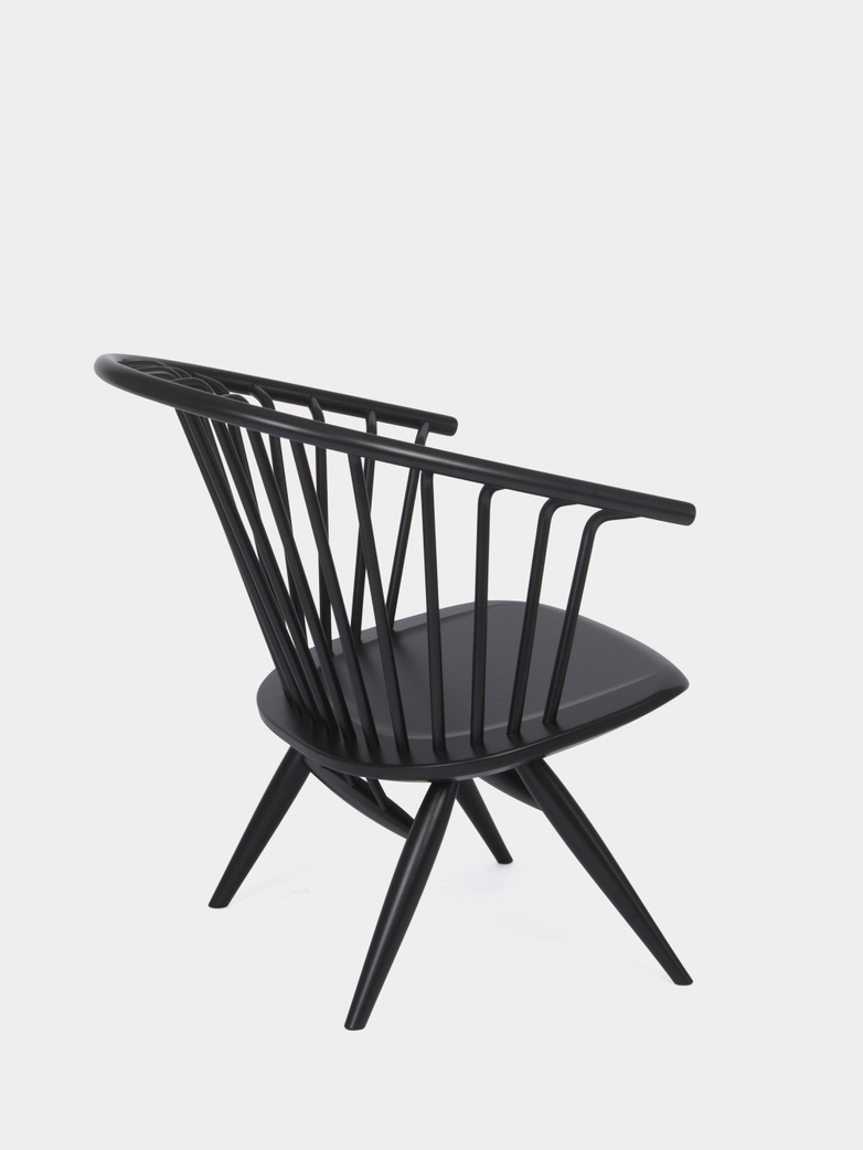 Pirka Armchair - Black