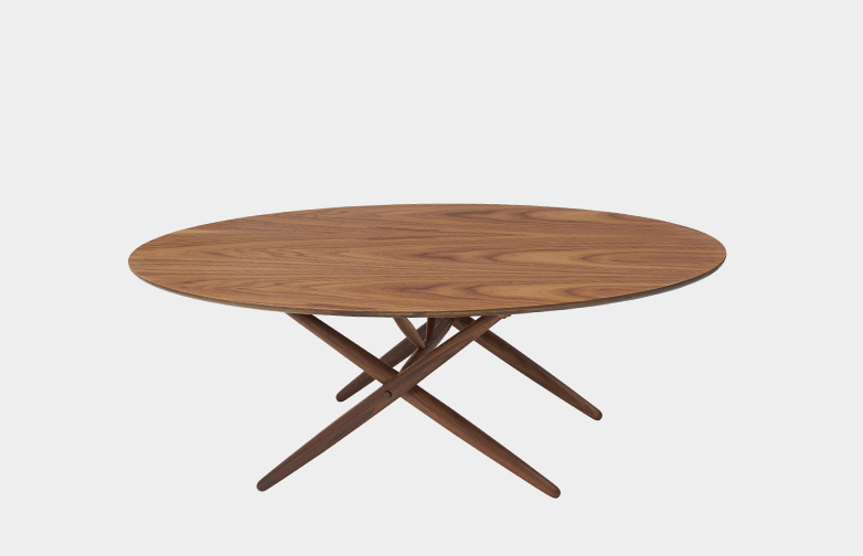 Ovalette Table - Walnut
