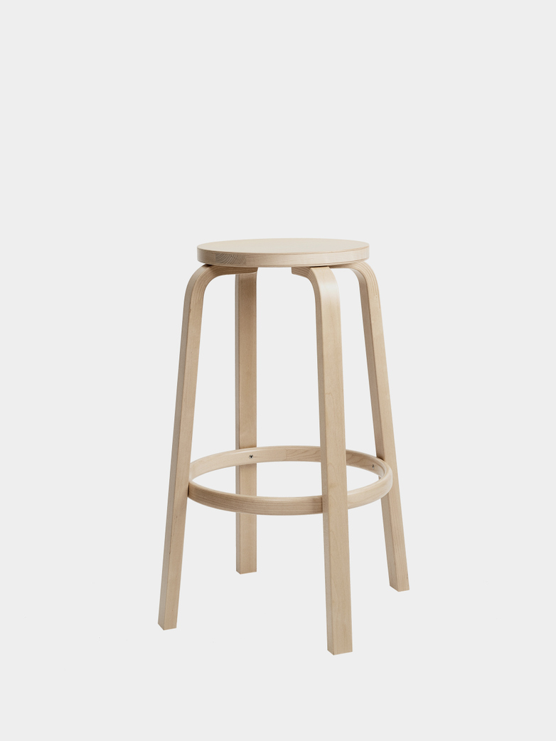Bar Stool 64 - Birch Veneer - 75 cm