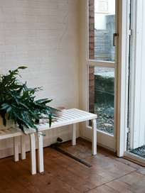 Bench 153B - Natural Lacquered - 72,5 cm