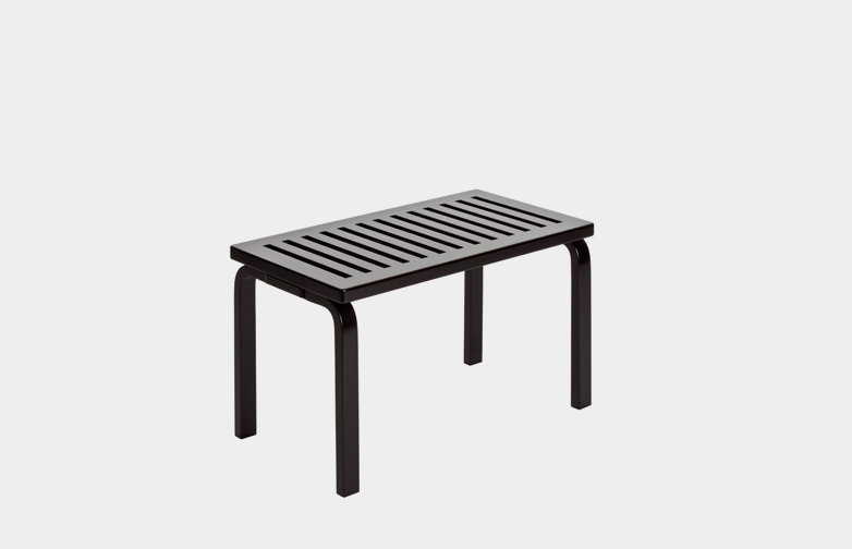 Bench 153B - Black Lacquered - 72,5