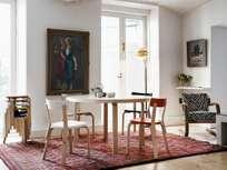 Aalto Table Round 91 - IKI White HPL - 125 cm