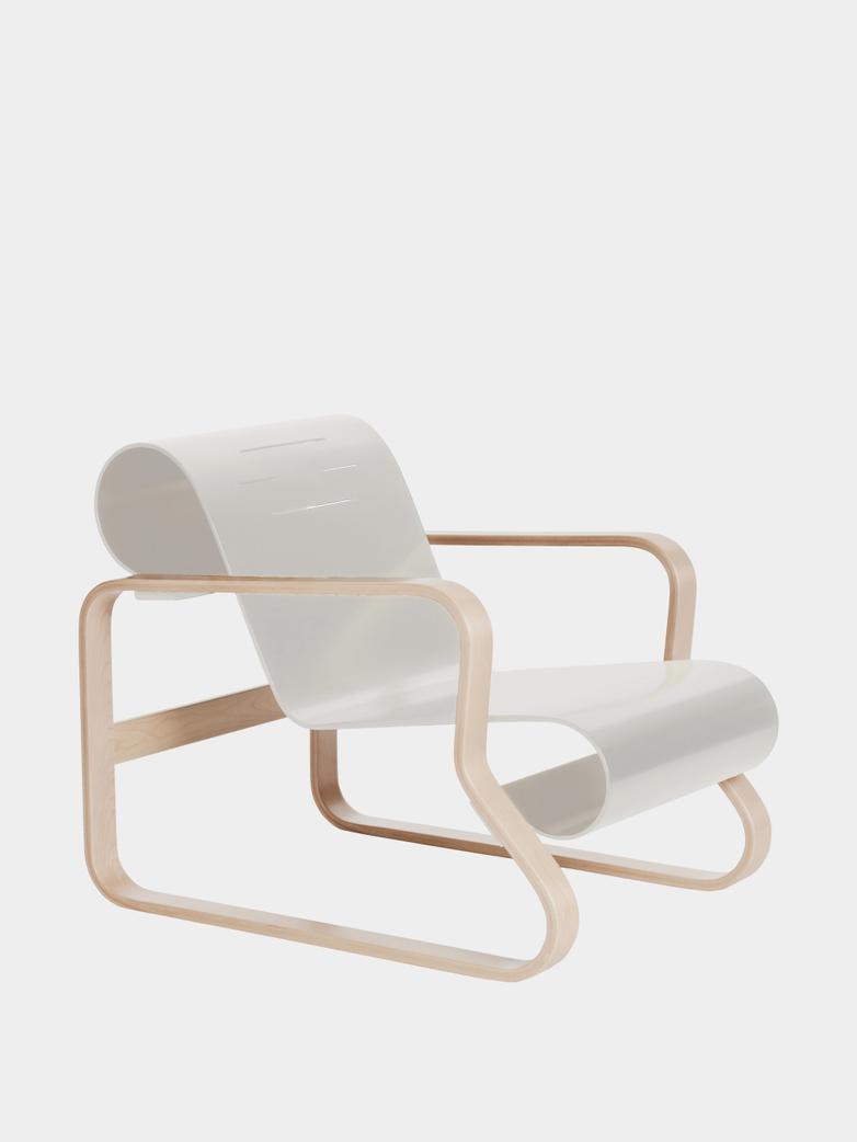 Armchair 41 - Piamio - Seat White Lacquered