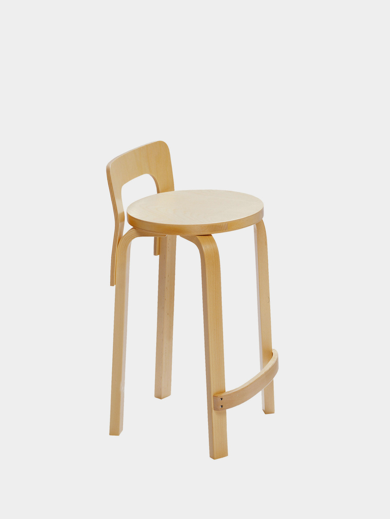 High Chair K65 - Seat Birch Veneer