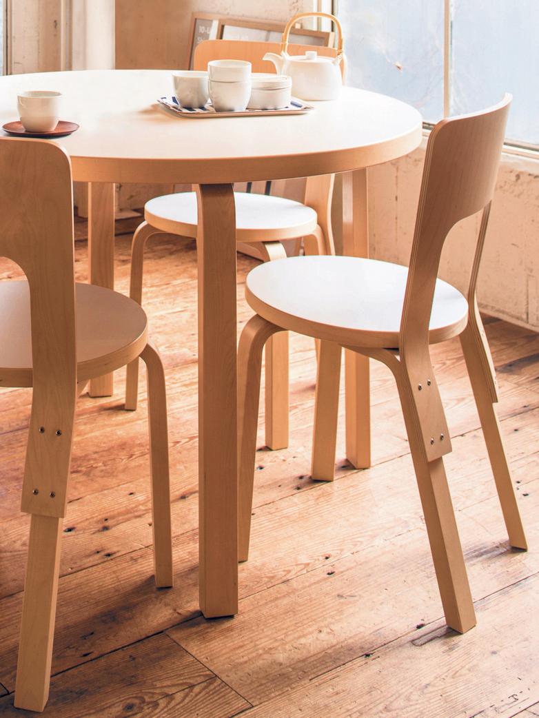 Chair 66 - Seat Birch Veneer