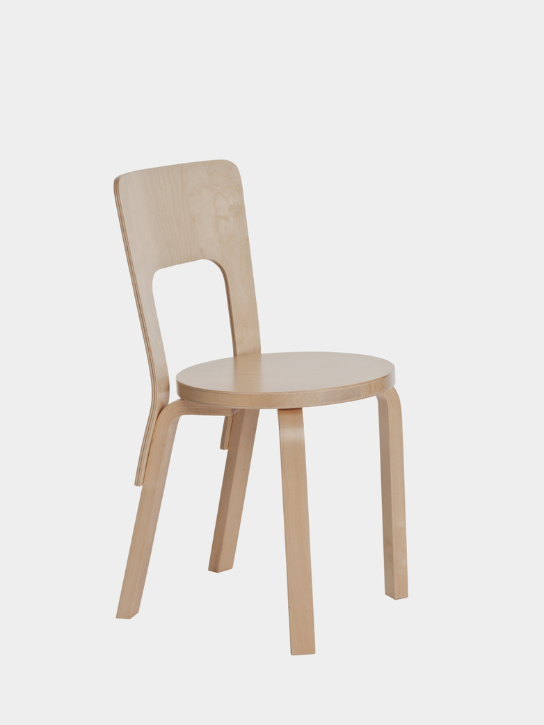Chair 66 - Seat Birch Veneer