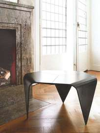 Trienna Table - Black Stained