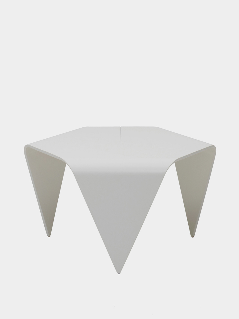 Trienna Table - White Lacquered