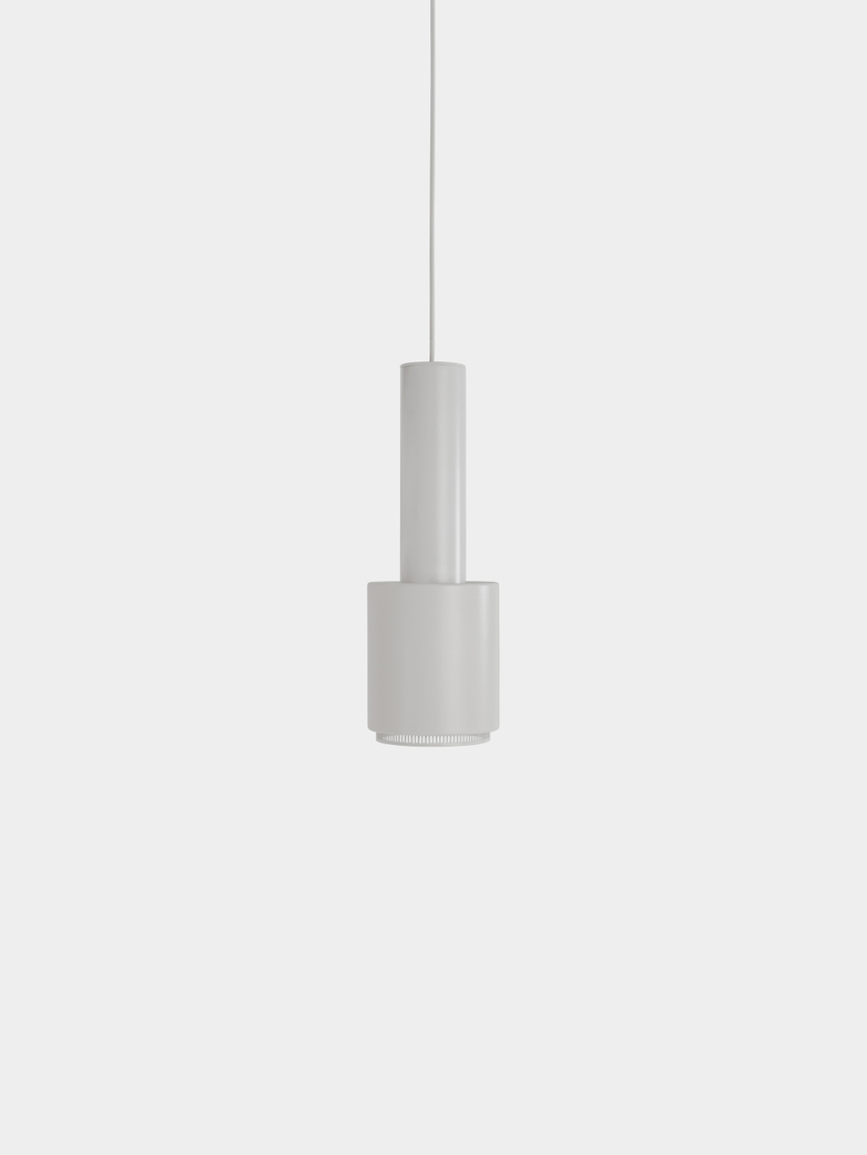 Pendant Lignt A110 - Hand Granade - White Shade - White Ring - White Cable