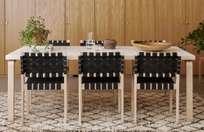 Aalto Table Rectangular 80B - IKI White HPL