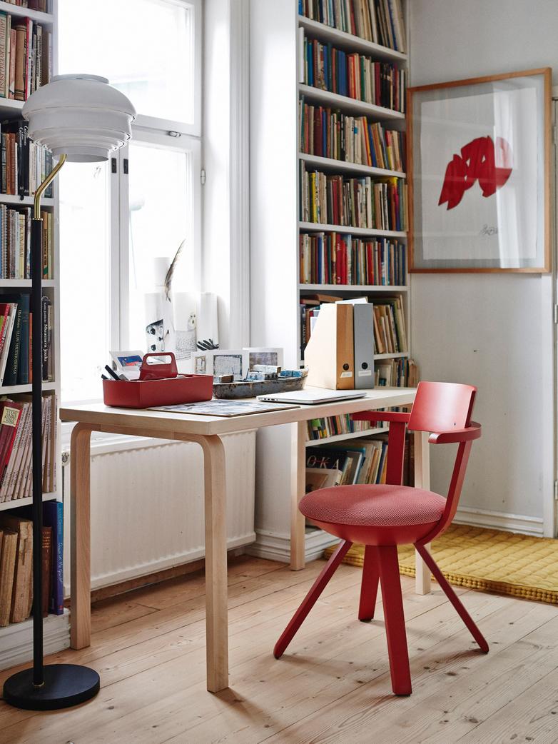 Aalto Table Rectangular 80B - Birch Veneer