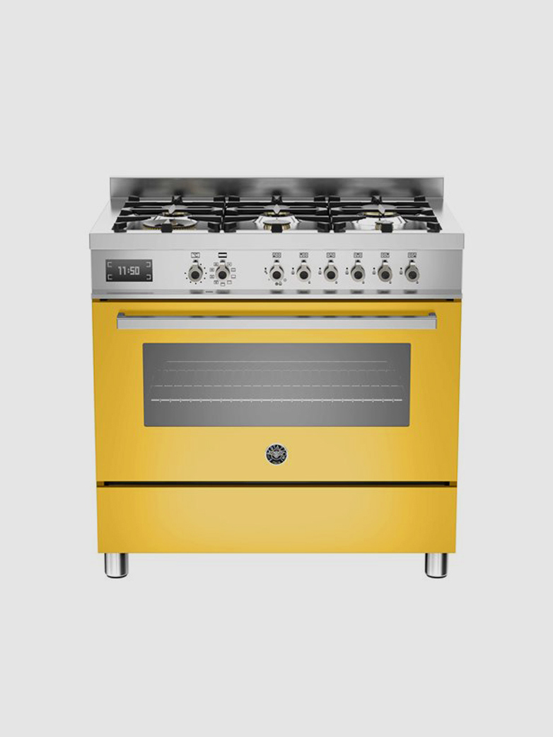 90 cm 6-Burner - Electric Oven - Professional Series