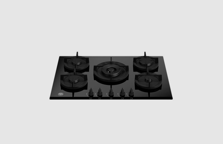 75 cm Gas hob with central dual wok Professional Series