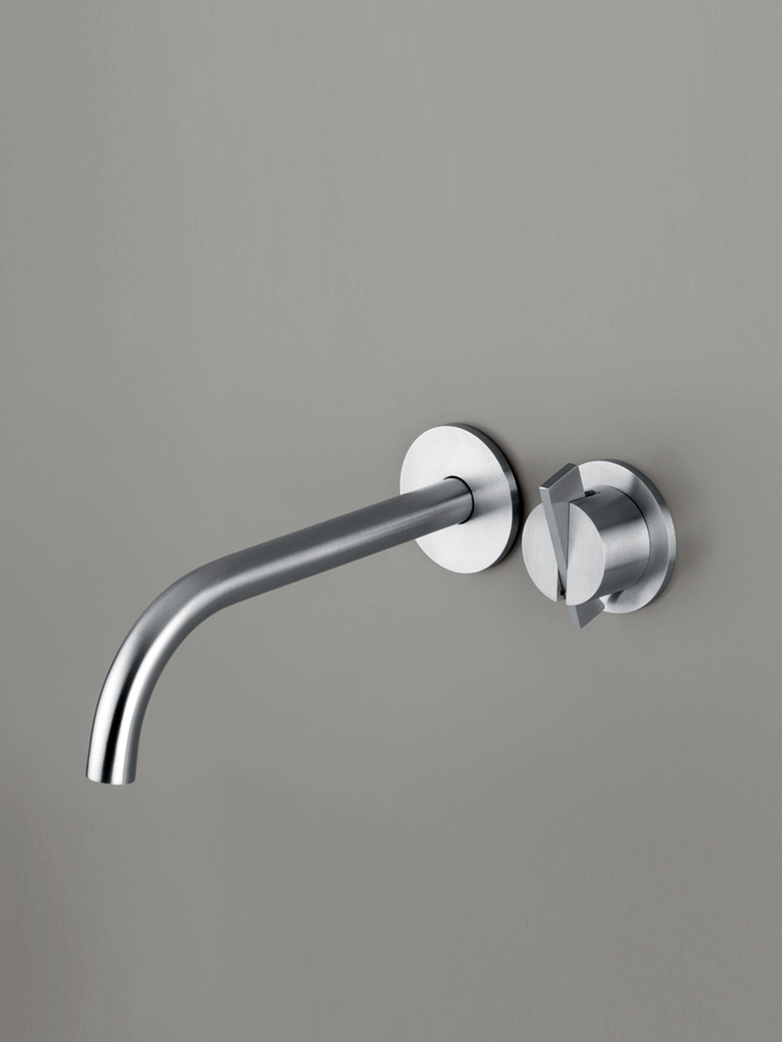 Piet Boon Stainless Steel - Wall Mounted Mixer with Spout