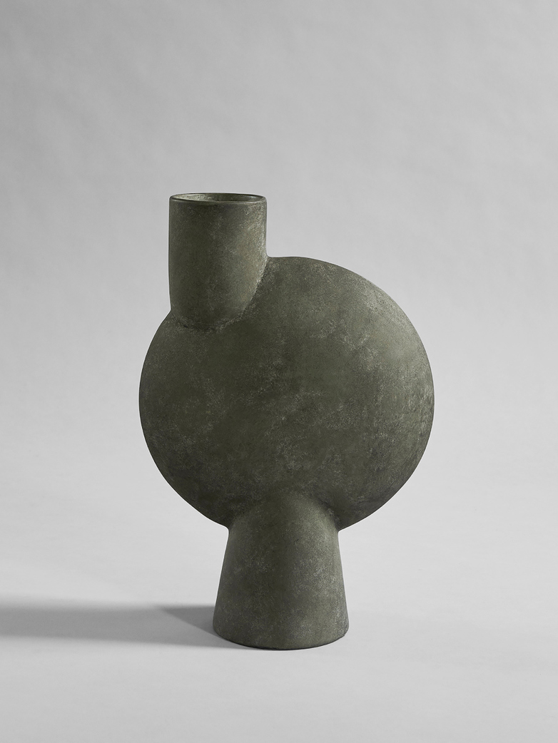 Sphere Vase Buble Large - Dark Grey