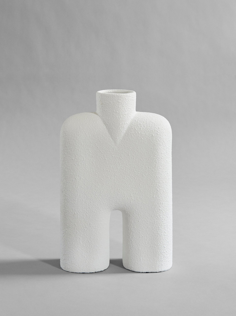 Cobra Vase Tall - White