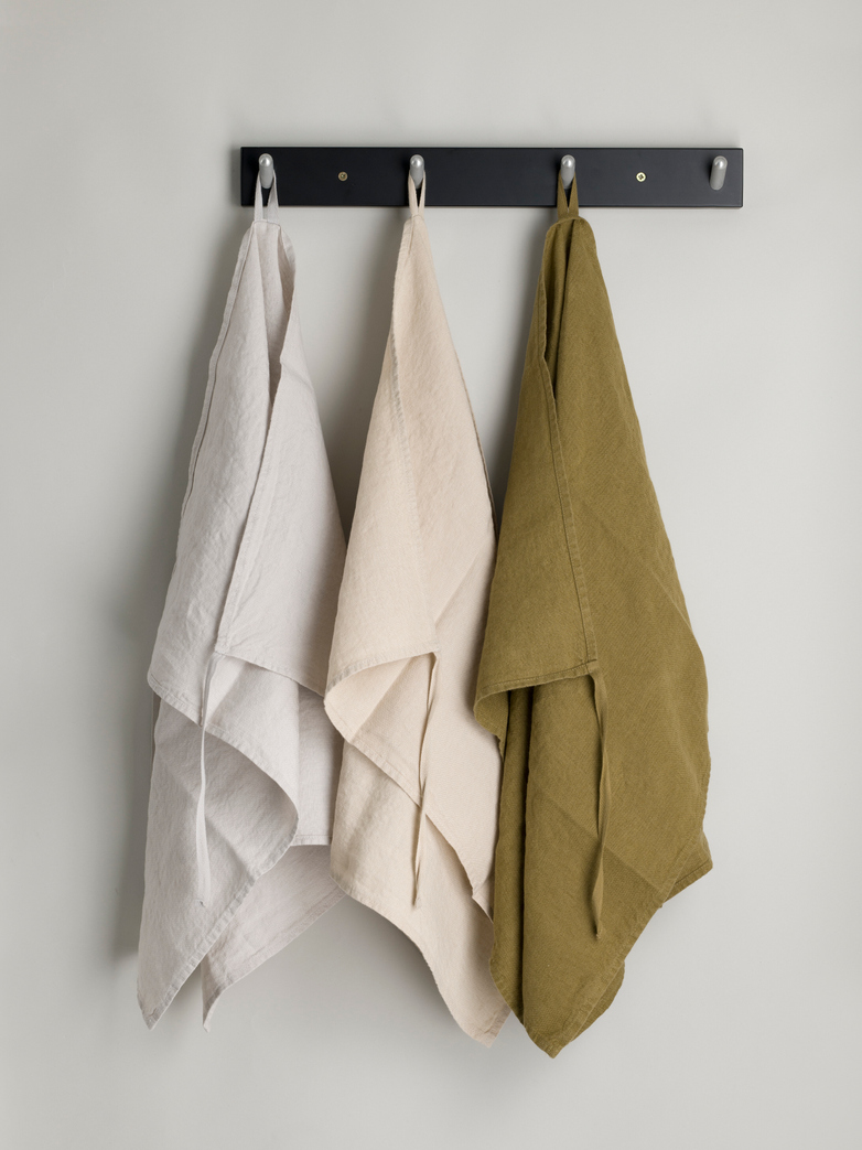 Basic Dishtowel - Mustard