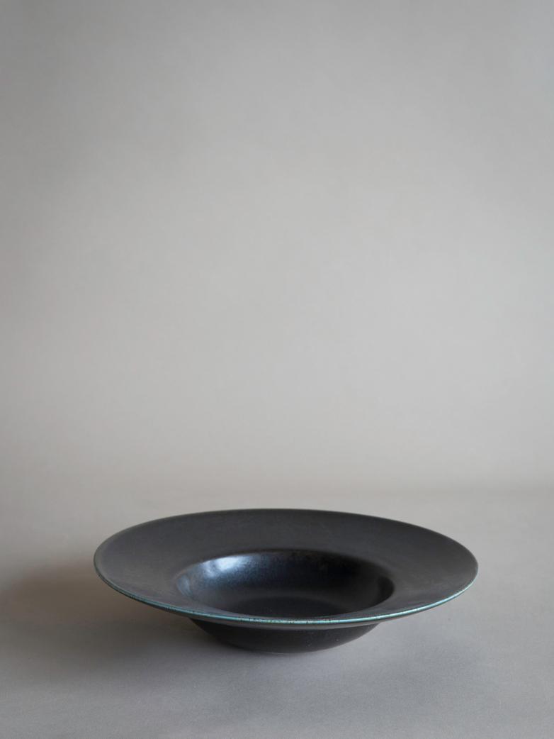 Kyoto Pasta Plate - Black