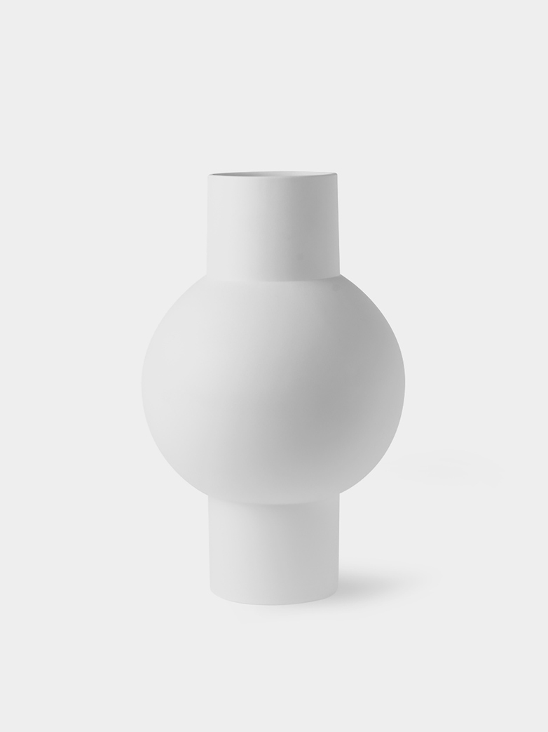 Matt Vase White - Medium