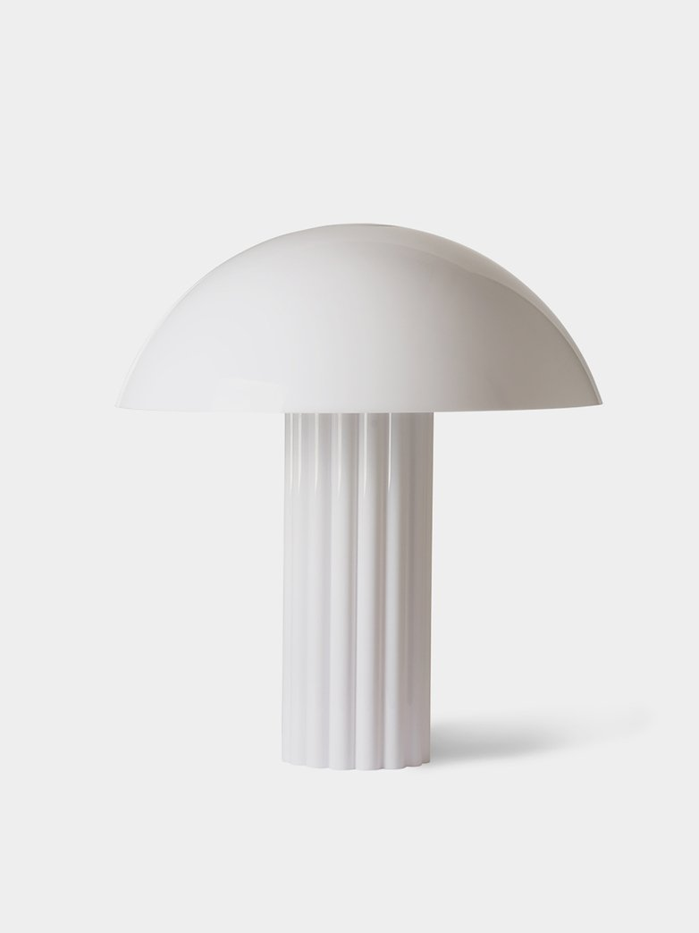 Cupola Table Lamp White