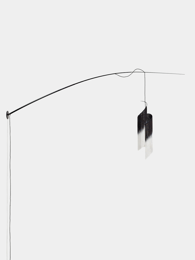 Ann Demeulemeester - Rey 2 Wall Lamp Black/White
