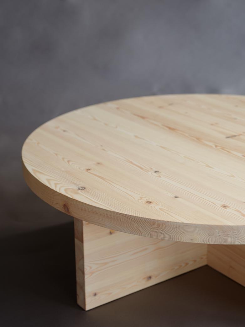 Pine Sofa Table 100 cm