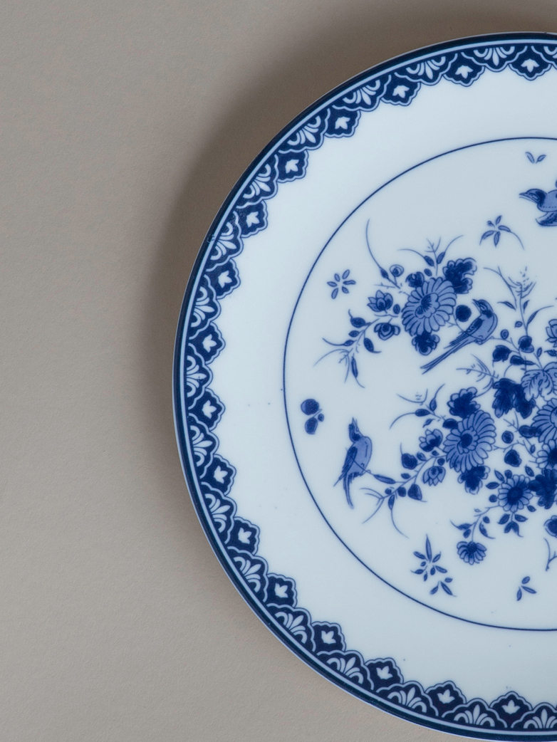 Delft Plate Set of 2