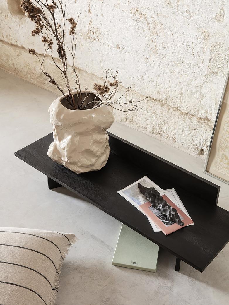 Berg Sculpture Low - Black