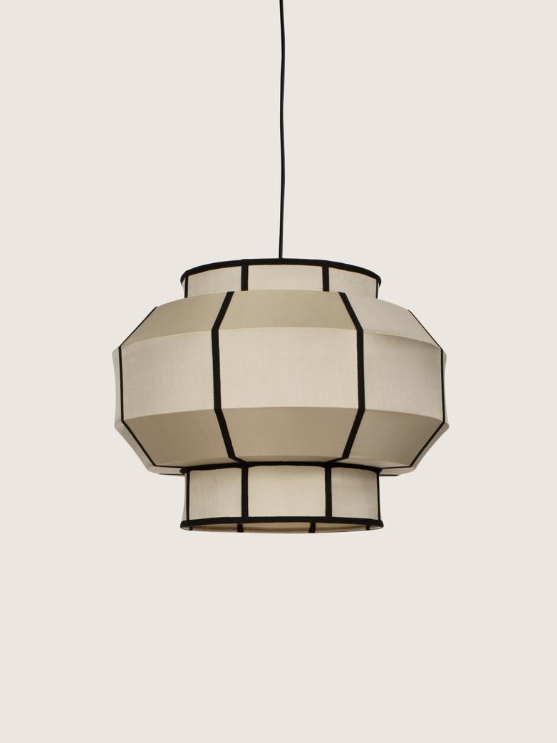Bali Colonial Silk Lamp