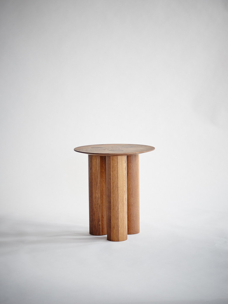 Hommage Side Table Smoked Oak