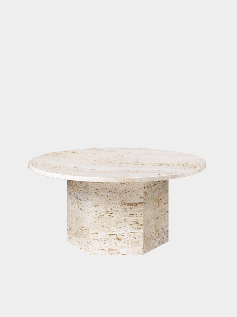 Epic Coffee Table – White – Ø80