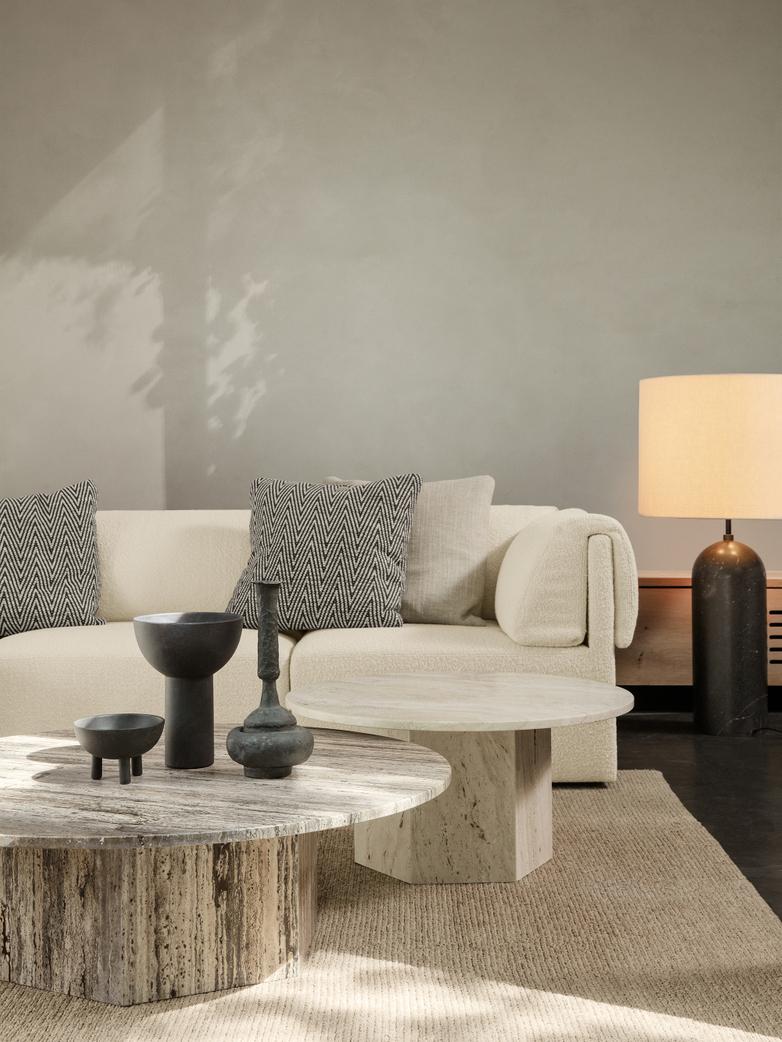 Epic Coffee Table – White – Ø80