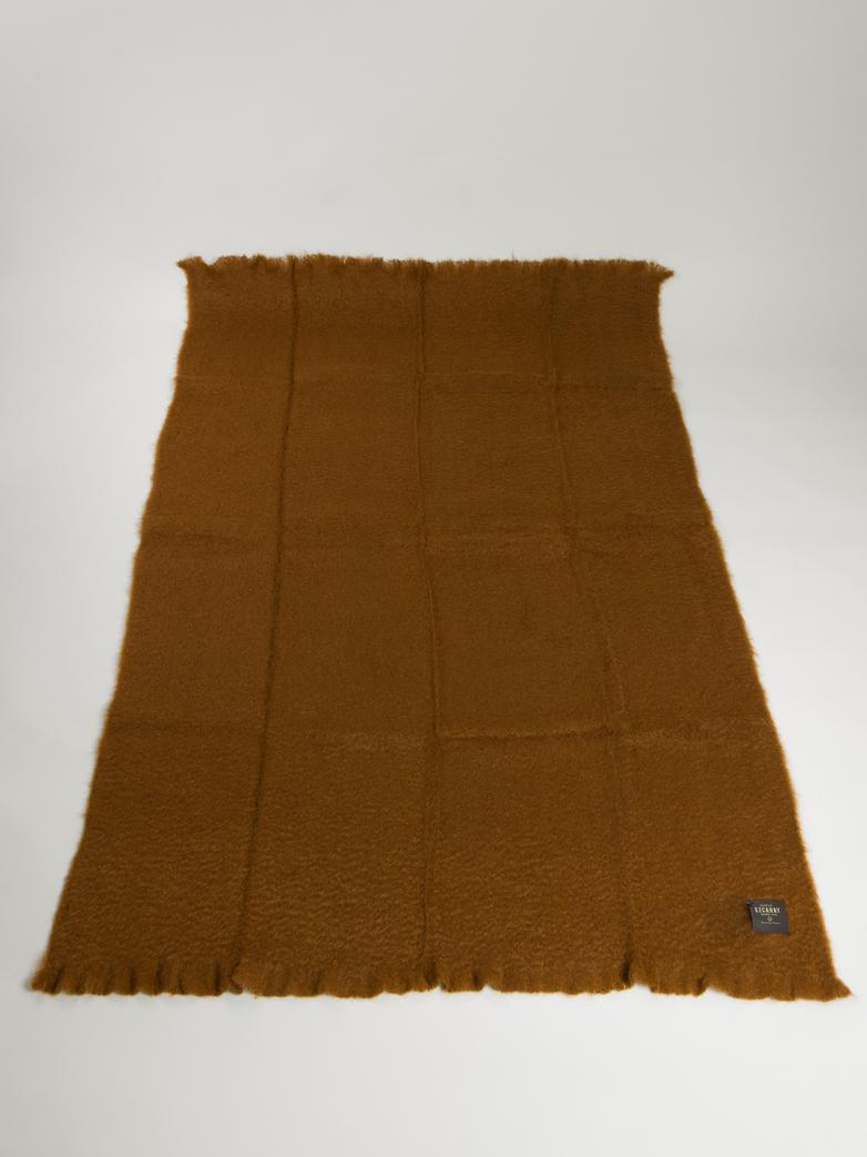 Mohair Throw 130 x 200 cm - Brown