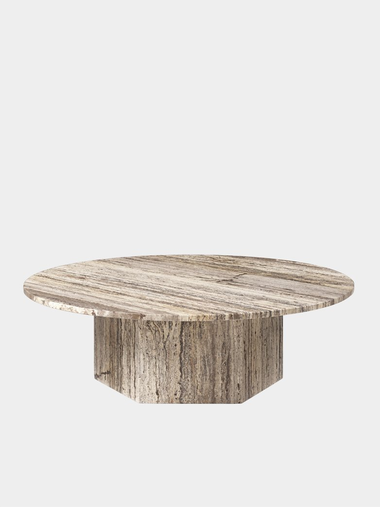 Epic Coffee Table – Grey – Ø110
