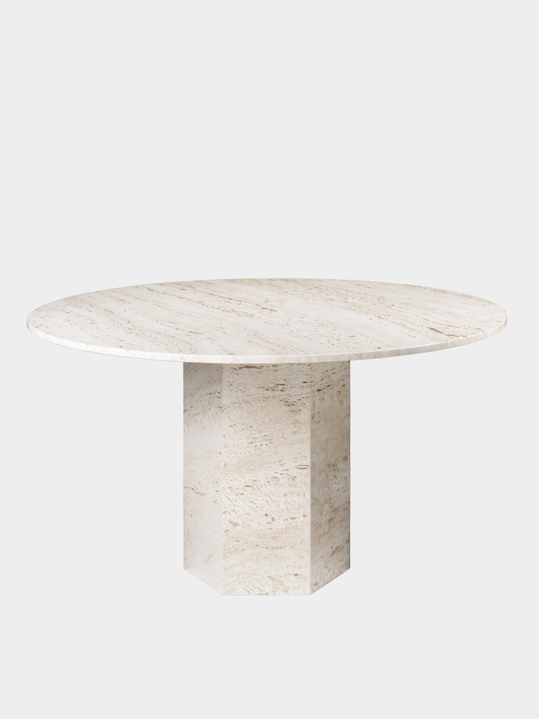 Epic Dining Table – White – Ø130