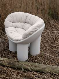 Roly Poly Cushion for Armchair - Sand