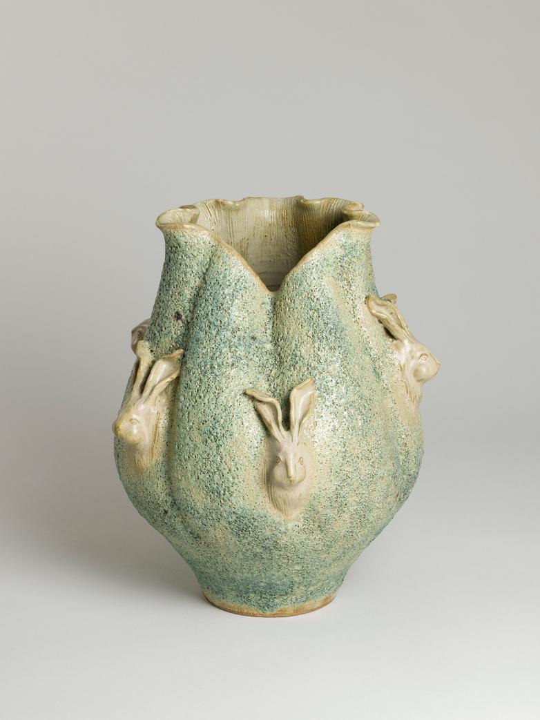 Hare Vase – Green