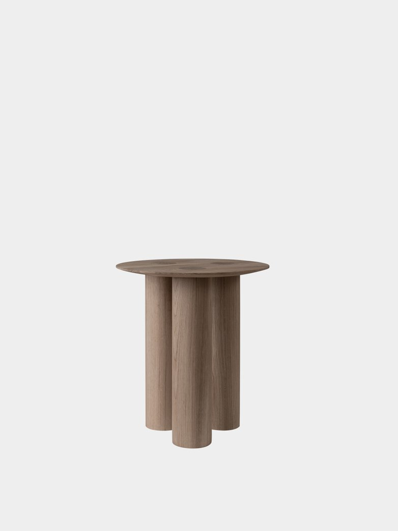 Hommage Side Table -White Stained Oak