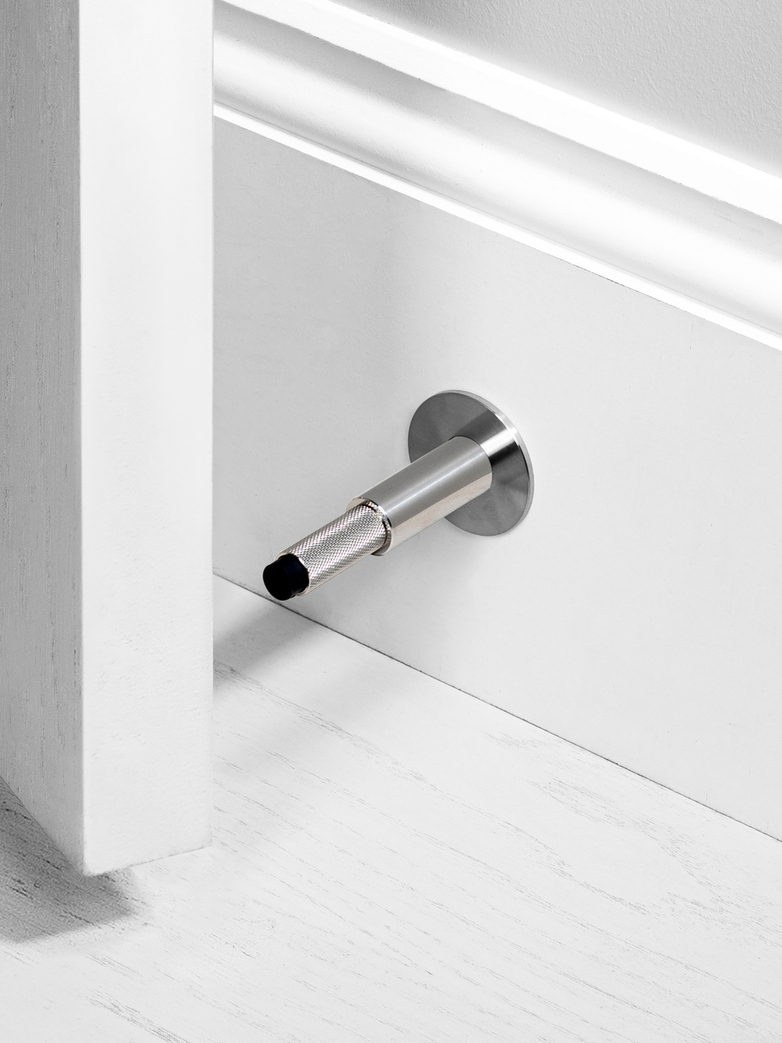DOOR STOP - WALL MOUNTED, ST
