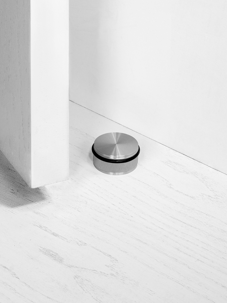DOOR STOP - FLOOR MOUNTED, ST