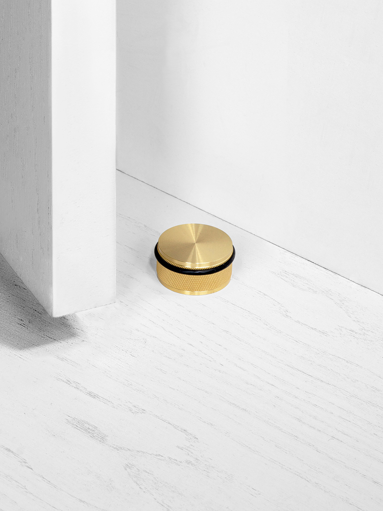 DOOR STOP - FLOOR MOUNTED, BR