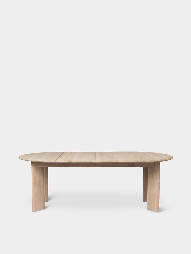 Ferm Living - Bevel Table Extendable X 2 White Oiled Oak
