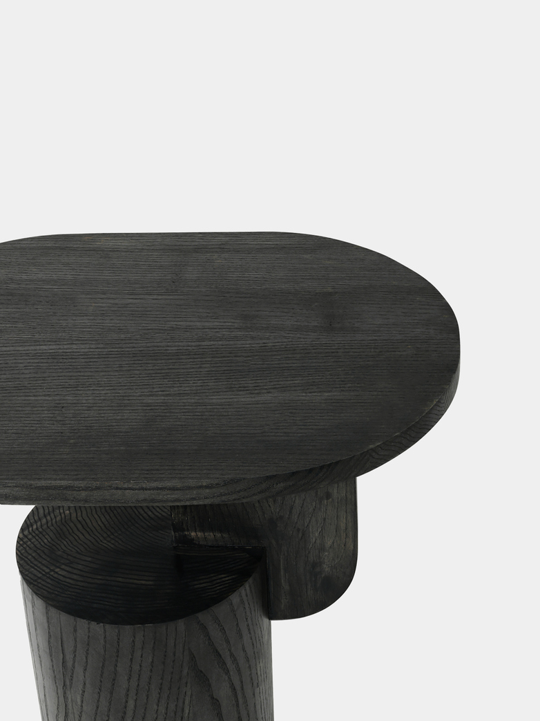 Ferm Living - Insert Side Table Black Stained Ash