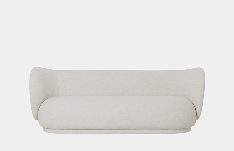 Ferm Living - Rico Sofa 3-Seater Off-White