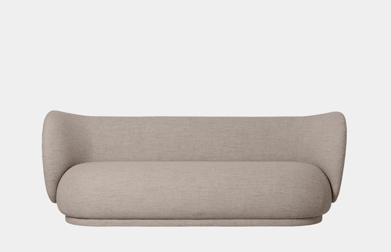 Ferm Living - Rico Sofa 3-Seater Sand