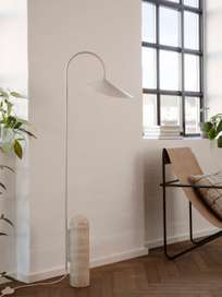 Ferm Living - Arum Floor Lamp Cashmere Travertine