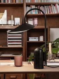 Ferm Living - Arum Table Lamp Black Black Marble