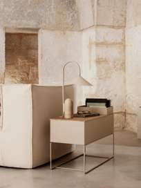 Ferm Living - Arum Table Lamp Cashmere Travertine