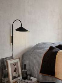 Ferm Living - Arum Wall Lamp Tall Black
